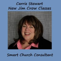 Sharon Narrell hosts UU Perspective Podcast with Carrie Stewart, New Jim Crow Classes and Smart Church consultant