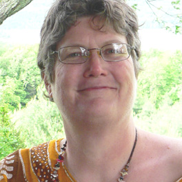 Janet Mason in the Catskills 1